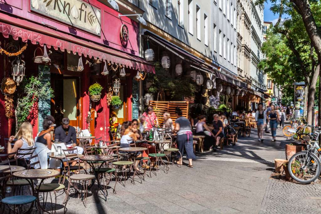 Berlin city lifestyle