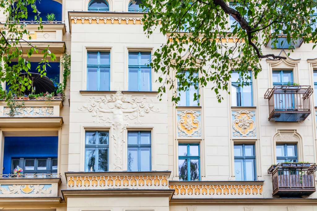 typical period property in Berlin Germany