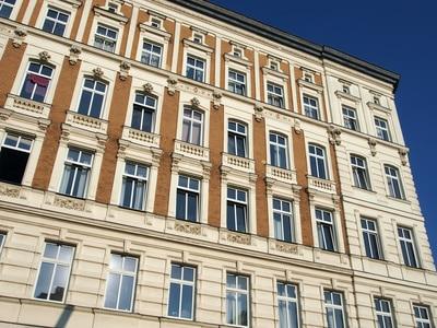 immeuble de type Altbau à Berlin en Allemagne