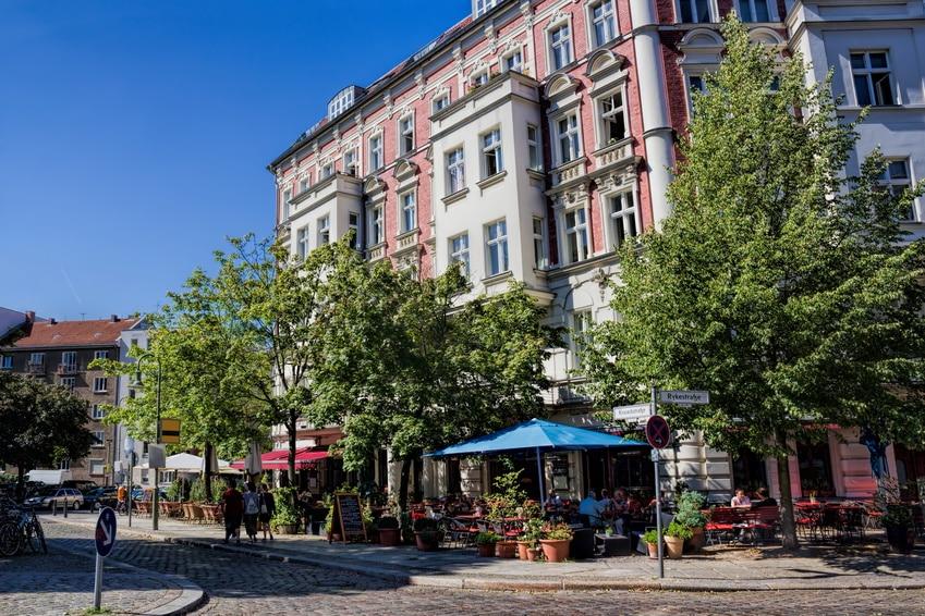 relax lifetsyle of Prenzaleru Berg - Berlin
