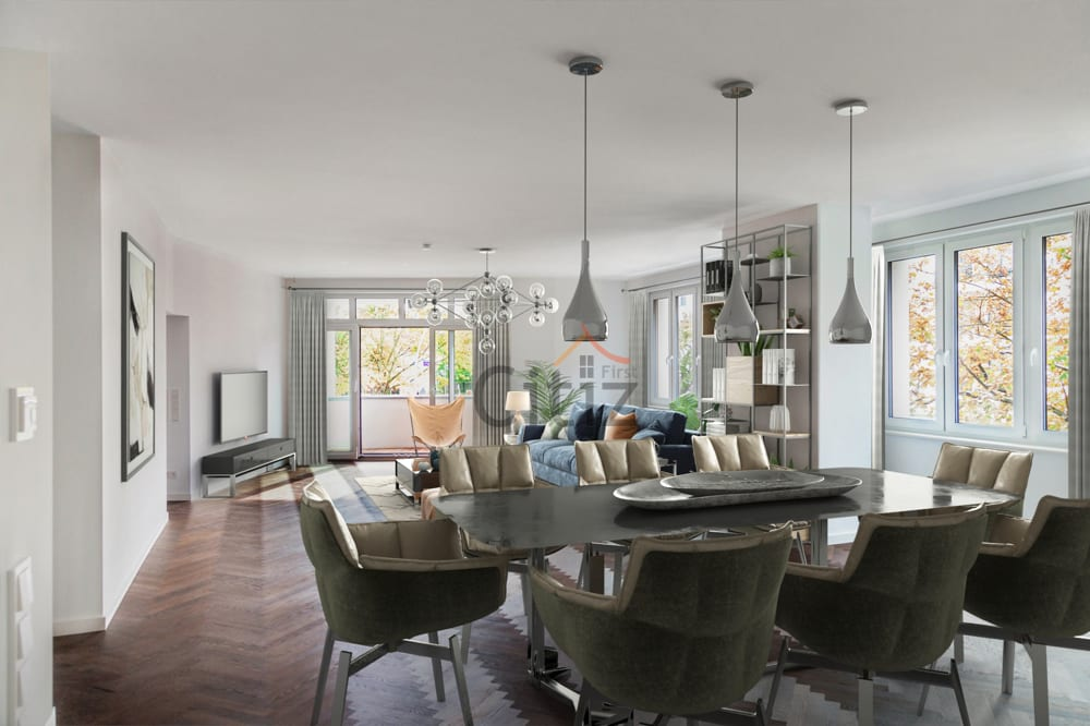 качество интерьера оказывает сильное влияние на оценку квартиры в берлине