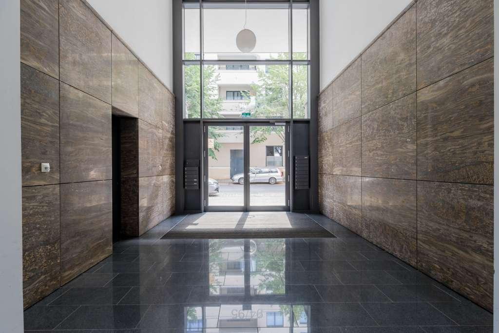 Luxury building entrance in Berlin-Mitte