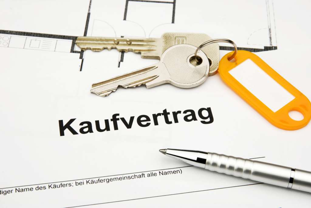 Property purchase and sale agreement in Germany