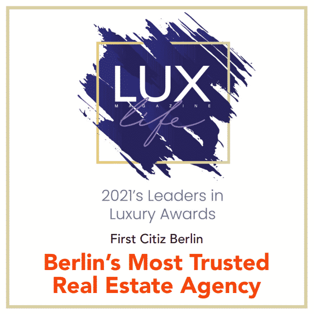 BERLIN'S MOST TRUSTED REAL ESTATE AGENCY 2021