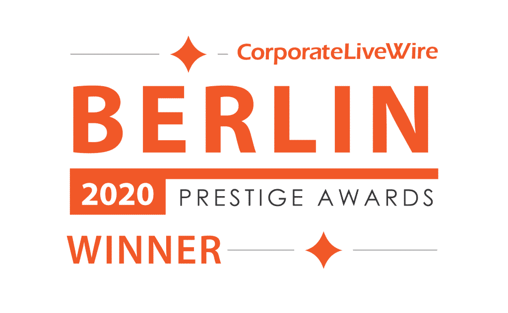 Award of the real estate agency of the year 2020 in Berlin - Germany