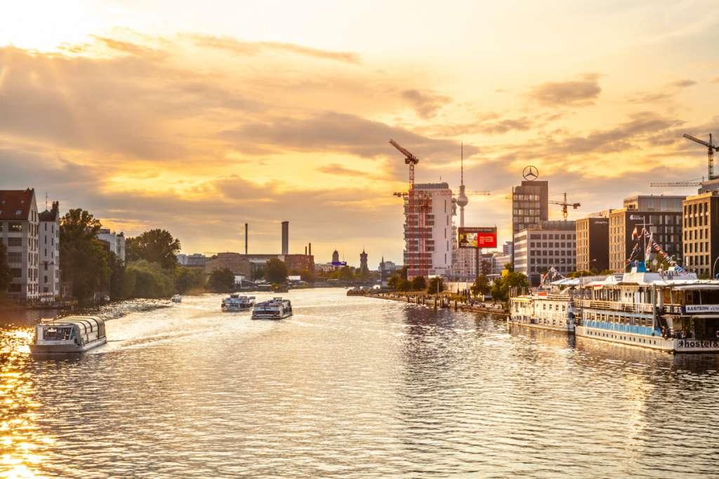 appartements sur les rives de Spree à Berlin Mitte